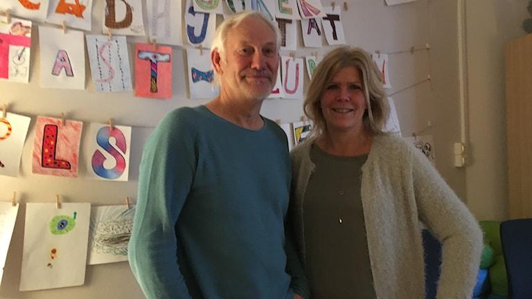 Bosse Hjalmarsson och Åsa Carlsson jobbar med föräldrarstödsprogrammet Connect.
