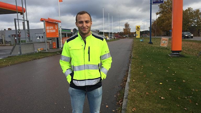 Andreas Borg, trafikingenjör i Askersunds kommun.