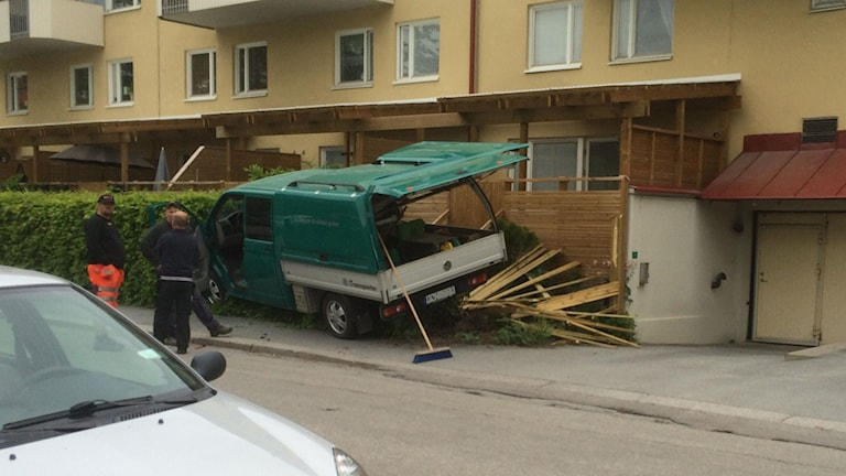Olycka på öster i Örebro