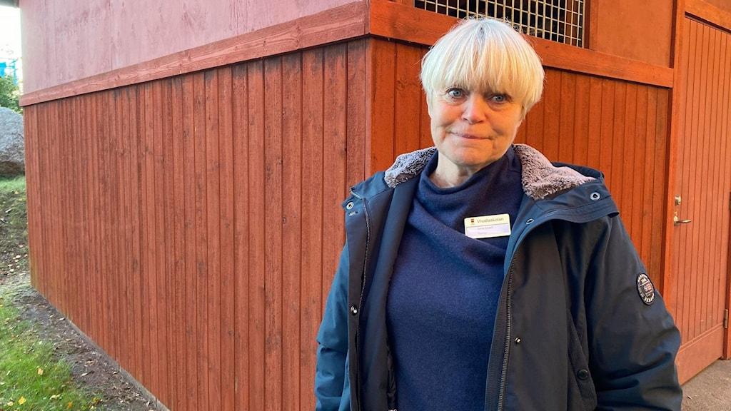 Lena Sörbö, rektor, Vivalla