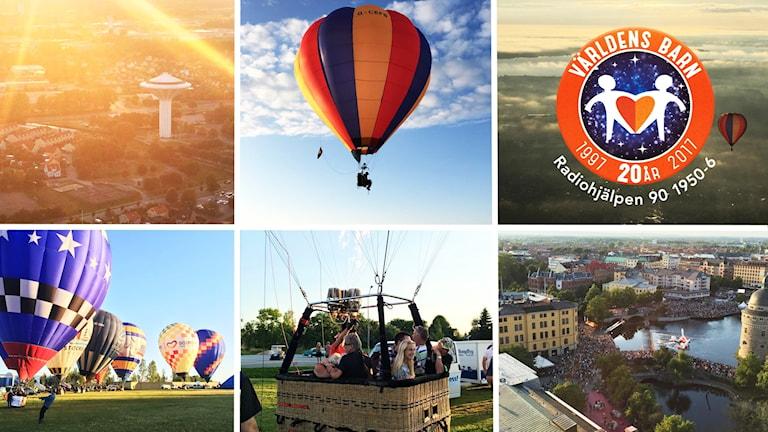 Ballongflyg i Örebro har skänkt en upplevelse till förmån för Världens barn -- som du kan buda på för goda ändamål!