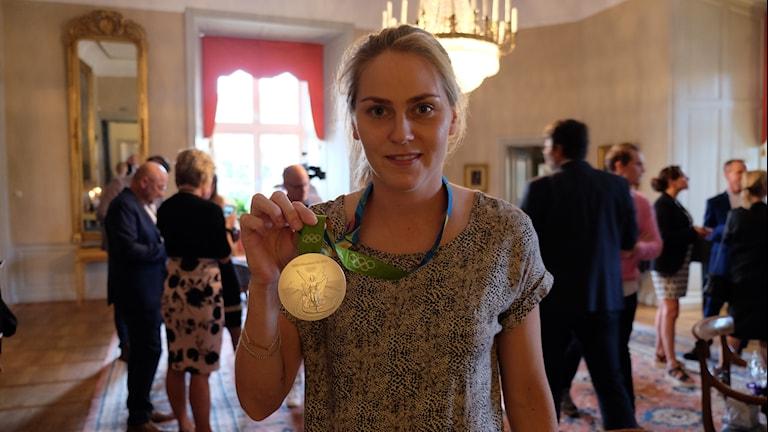 Lisa Dahlqvist med os-silver från Rio