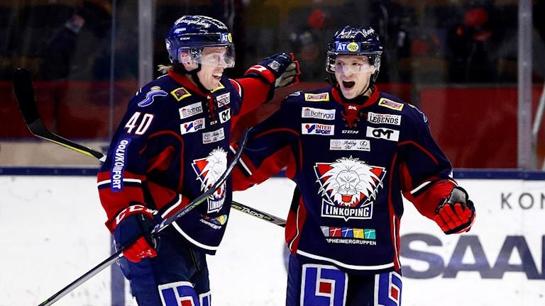 Kristian Näkyvä och Ken Andre Olimb
