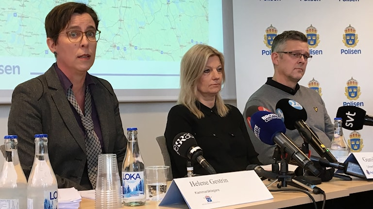 Helen Gestrin, Gunilla Broman och Patrik Sjögren
