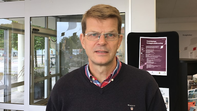 Ulf Johansson Lorin, chef på stadsmiljöavdelningen på Linköpings kommun.