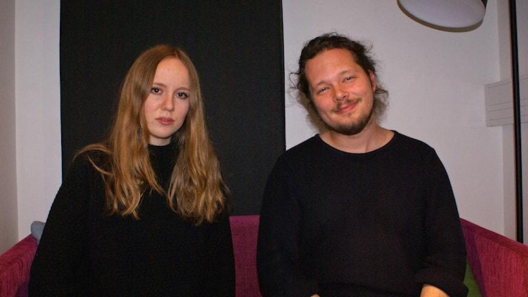 Ellen Andersson och Anton Forsberg från Ellen Andersson Quartet.