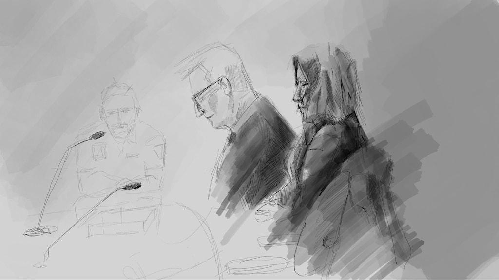 Under den sista rättegångsdagen ska tingsrätten gå igenom Kriminalvårdens yttrande om lämplig påföljd för brottet.