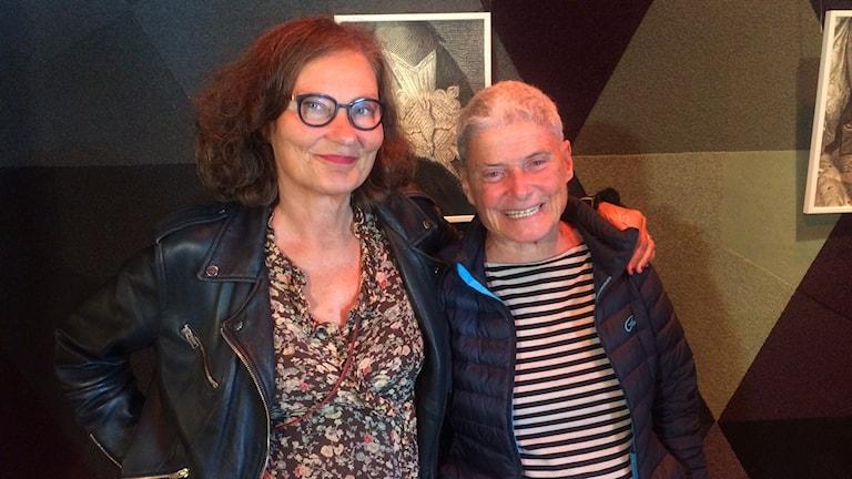 Ebba Witt-Brattström och Maj Wechselmann