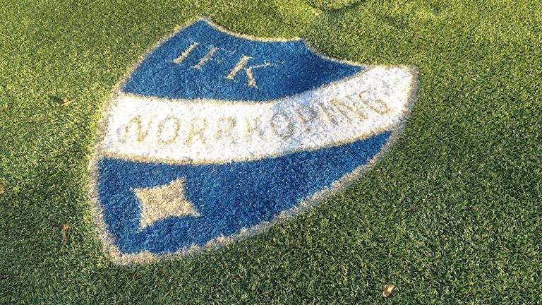 ifk, fotboll,logga,gräsplan