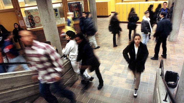 Unga upplever allt mer stress i skolan.