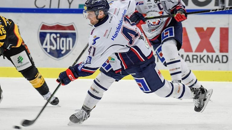 Chad Billins, i LHC, är uttagen till USA:s OS-trupp i ishockey.