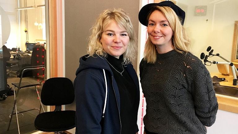 Rebecka Dellskog  och Louice Ottosson.