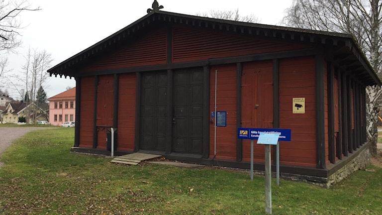 Göta kanalbolagets museum vid Gamla Motala verkstad