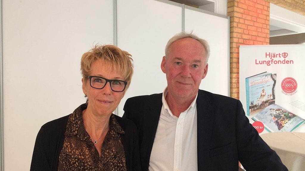 Gudrun Hagström och Hasse Pettersson, två av deltagarna i SCAPIS.