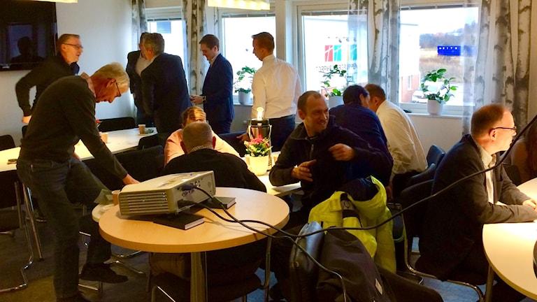 Företagarnas villkor diskutteras på en konferens i Linköping.