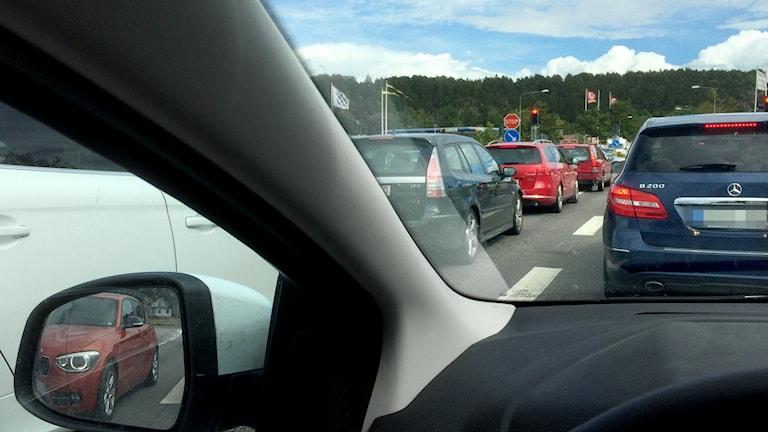 Bilkö genom Söderköping sommartid