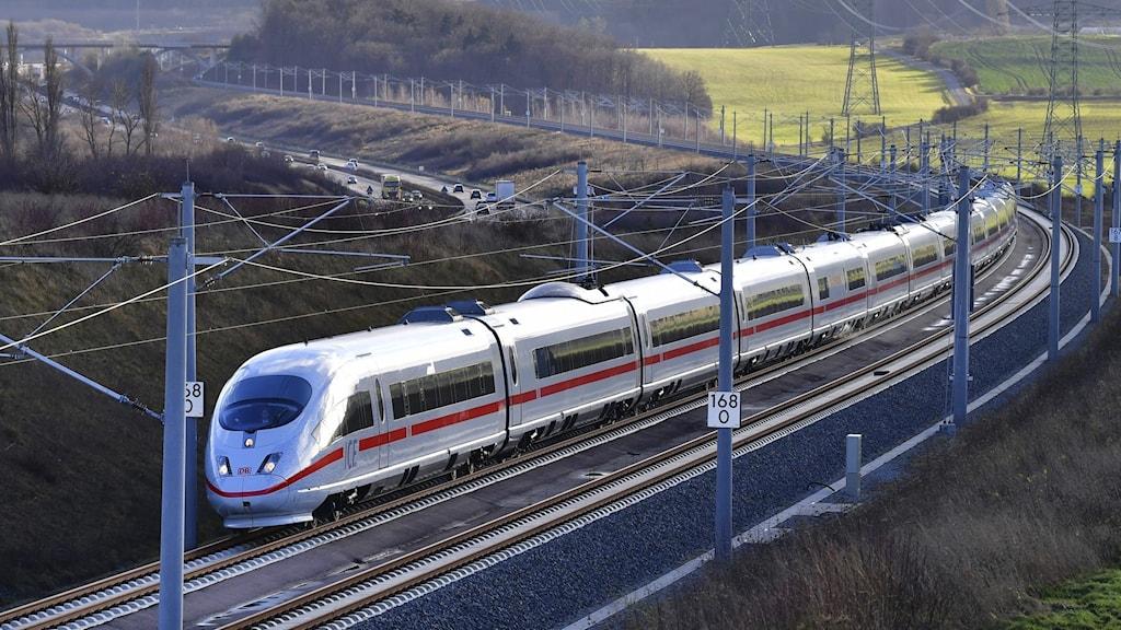 Höghastighetståg (Arkivbild)