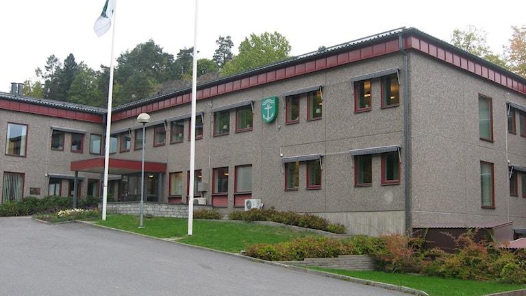 Kommunhuset i Valdemarsvik foto:Maria Turdén/SR Östergötland