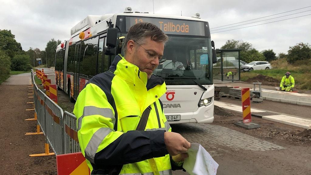 Nya busshållplatser i Tallboda