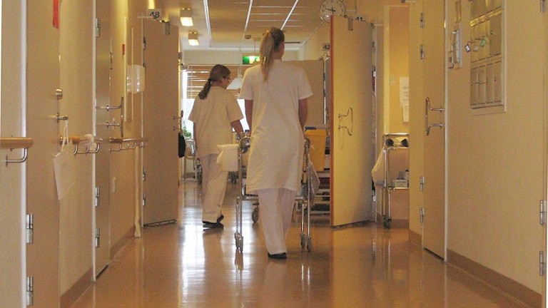 Sjuksköterskor.