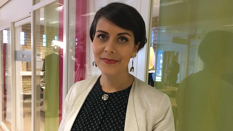 Milischia Rezai, politiskt sakkunnig på Arbetsmarknadsdepartementet