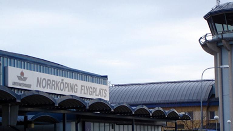 Norrköpings flygplats.