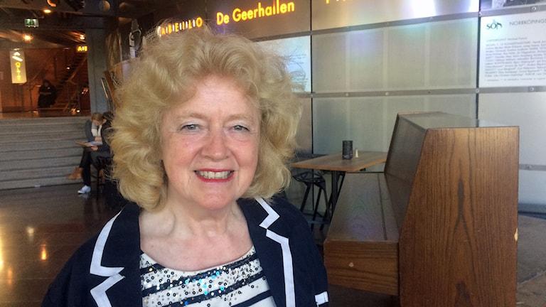 Sonja Stenhammar, initiativtagare till Stenhammartävlingen i Norrköping.