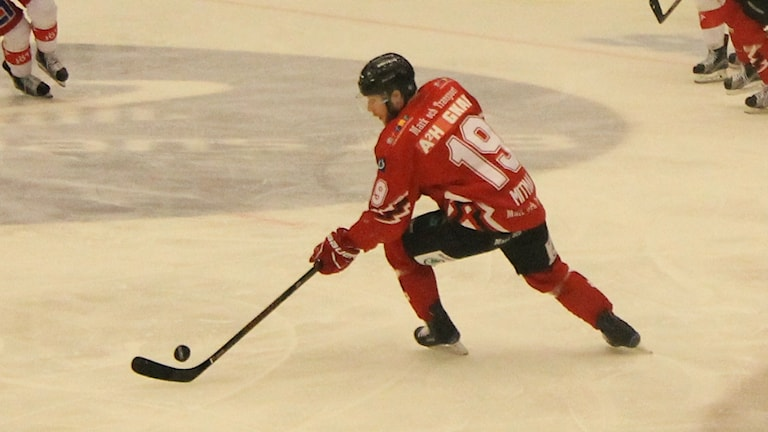 Hockeyspelaren Simon Mitman