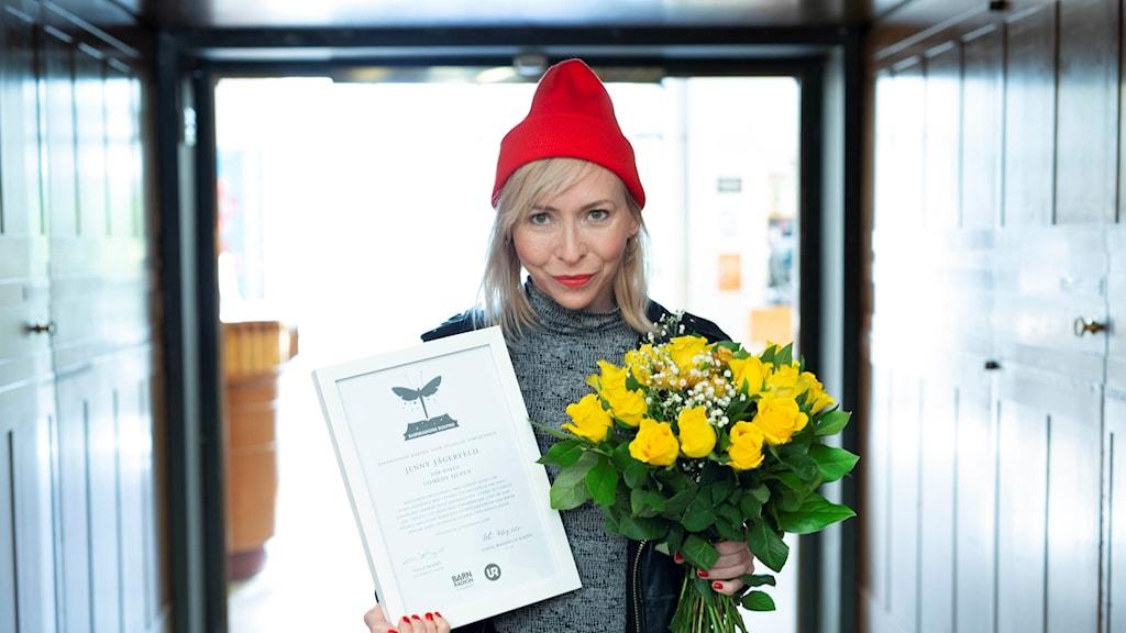 Jenny Jägerfelds Comedy queen tilldelas Barnradions bokpris 2018 för sin skildring av livet när det är som svårast.