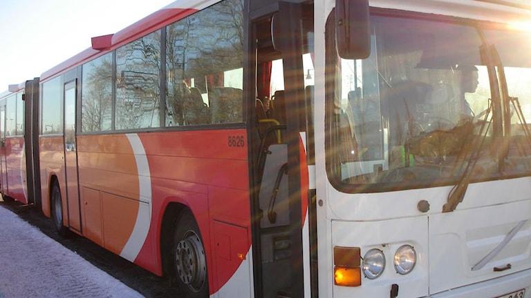 Buss Östgötatrafiken. Foto: Sveriges Radio