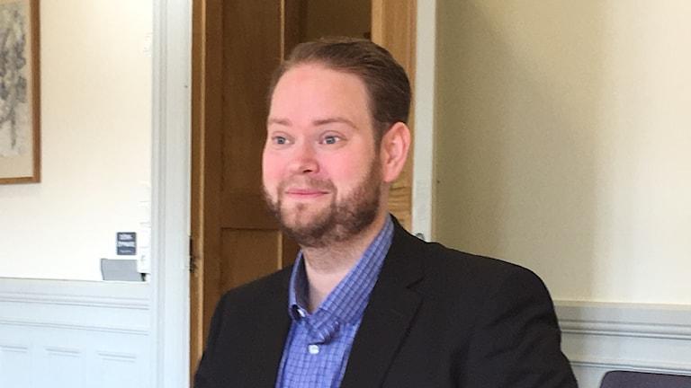 Daniel Andersson(L) ordförande i omsorgsnämnden i Linköpings kommun.