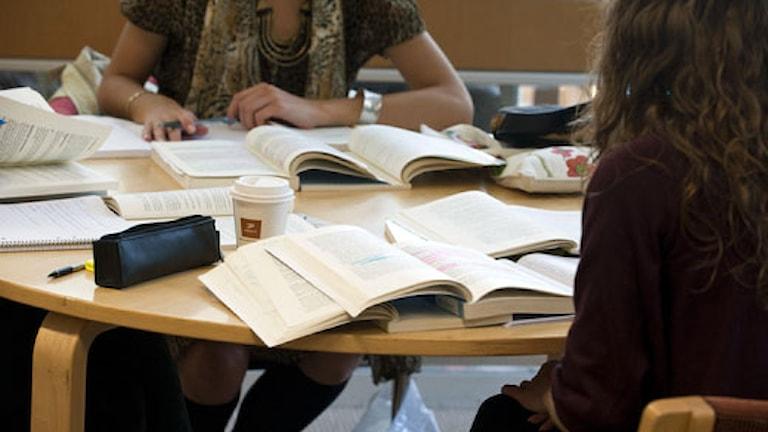 Studenter Foto: Bertil Ericsson/Scanpix