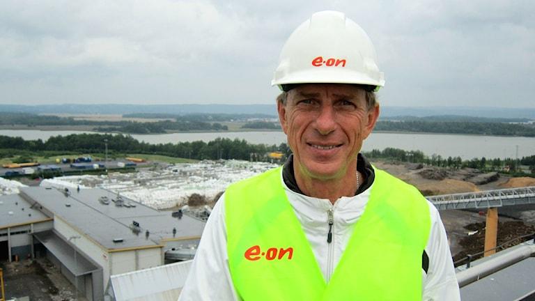 Björn Persson, regionchef på Eon.