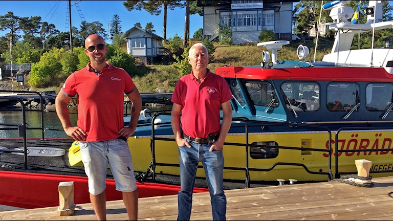 Jim Karlsson och Lars Fahlén.