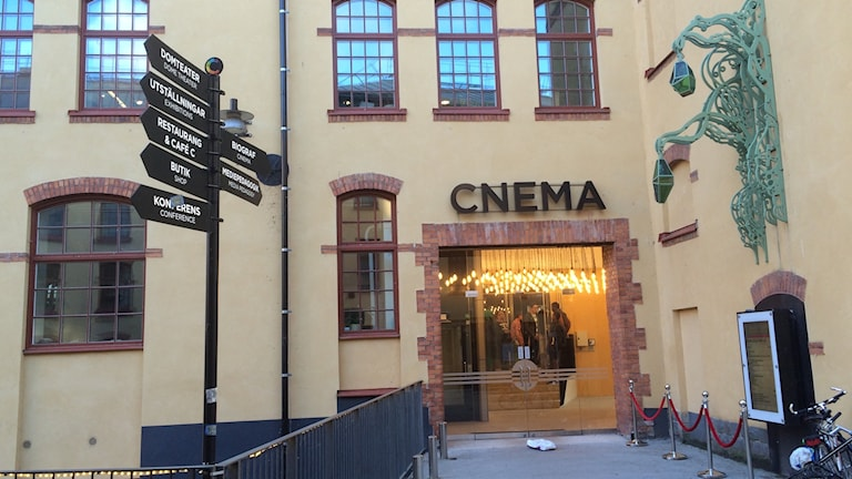 Cnema i Norrköping.