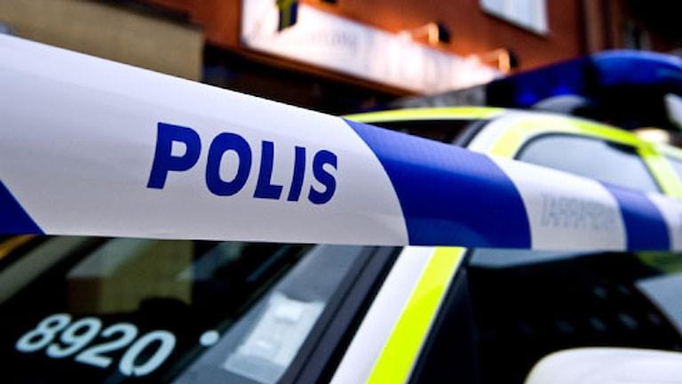 Polisavspärrning Foto: Scanpix