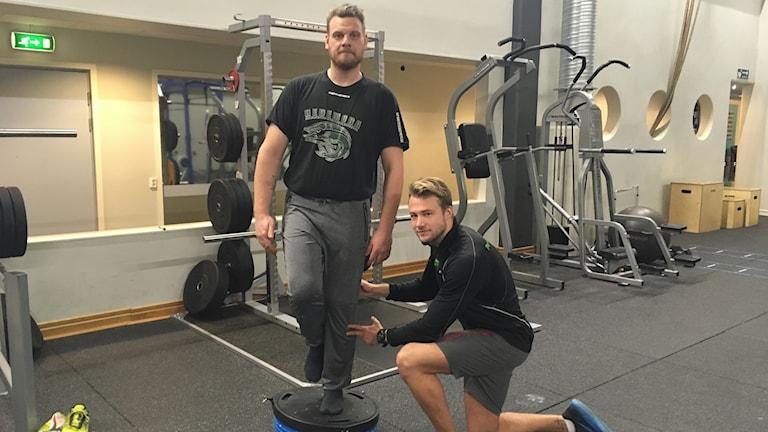 Jonas Jonsson och Måns Cederberg