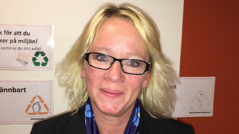 Carina Ståhl Herrstedt, ordförande i Sverigedemokraternas kvinnoförbund.