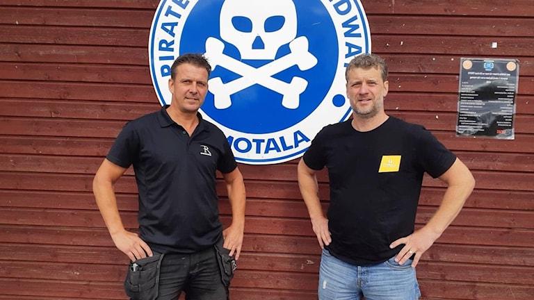 Stefan Andersson Skill och Stefan Ekberg, Piraterna.