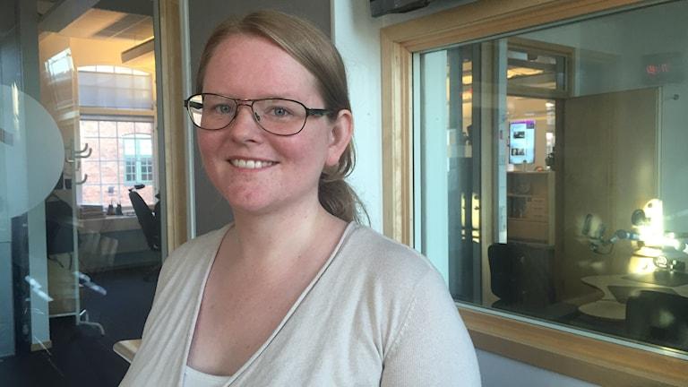 Matilda Johansson, ordförande i Arbetsmarknads och vuxenutbildningsnämnden i Norrköping