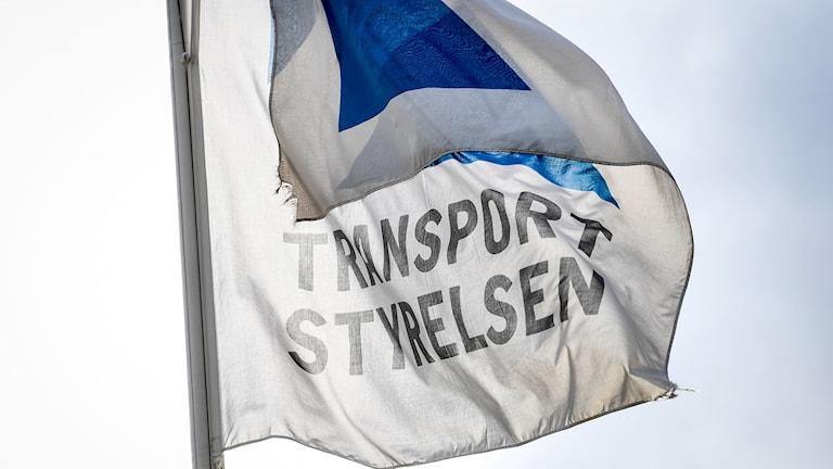 Transportstyrelsen flagga