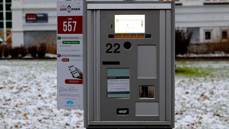 Parkeringsautomat Parkering