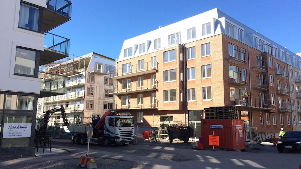 Bygge i Linköping
