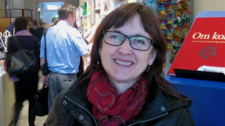 Lena Wiklund konstkonsulent på länsmuseet.