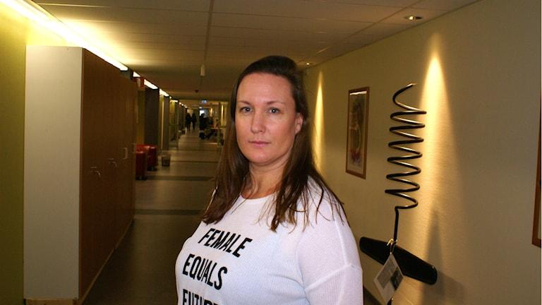 Paulina Bengtsson verksamhetschef på Novahuset