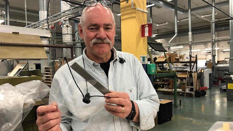 Håkan Kindström, VD Inplastor