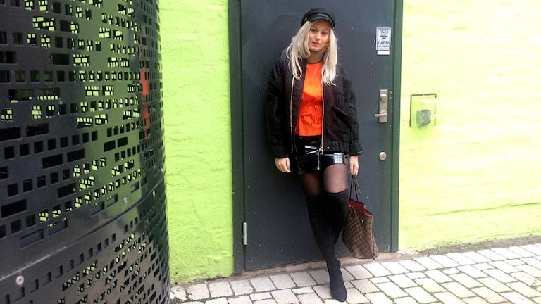 Elenor Leone har blivit utsedd till Norrköpings bäst klädda kvinna.