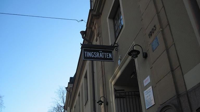 Tingsrätten i Norrköping. Foto: Sofia Strindvall