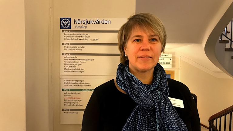 Malin Kreutz, vårdcentralchef i Finspång