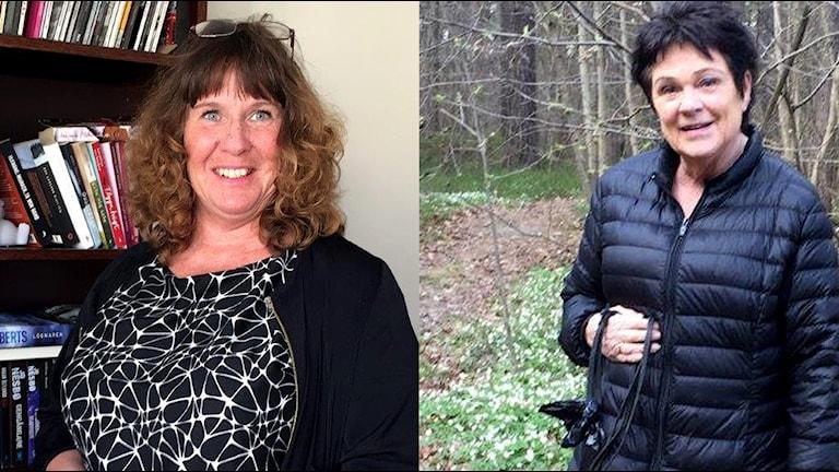 """Mari Aldrev och Helene Claesson. Båda bor i Vilbergen men de har olika syn på samhället. I serien """"Ett nytt Sverige"""" får vi följa dem båda."""
